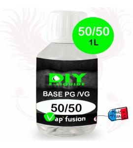 Base neutre - 1L- PG/VG - 50/50 - DIY E LIQUIDE - Vapfusion