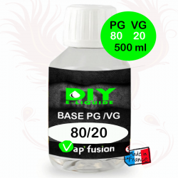 Base PG/VG 80-20 500ml by Vap'fusion