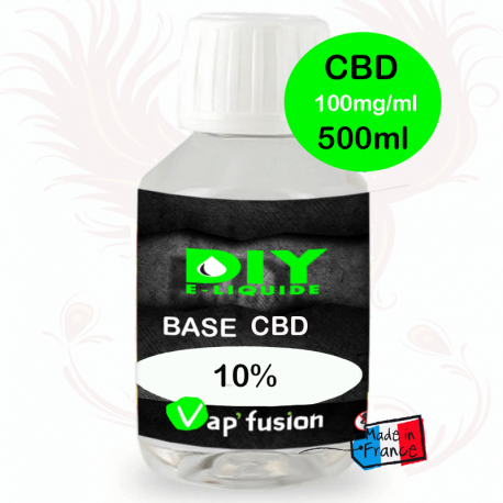 500ml booster Cbd pure base 1000mg