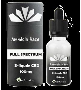 e-liquide Cbd Amnesia Haze full spectrum Edition Premium