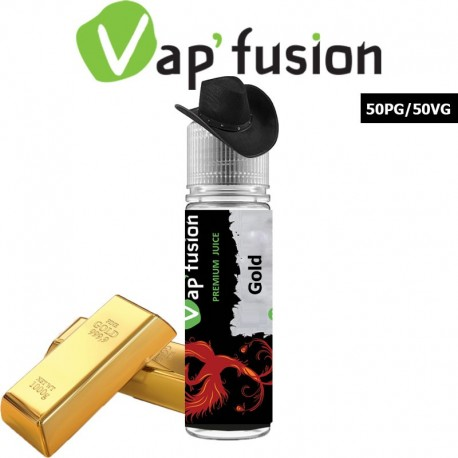 E liquide Vapfusion 50 ml - Gold - Prêt à booster