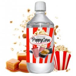 E liquide PoppyCorn - 1 l - 50/50 PG/VG - 1 000 ML - Pop-Corn Caramel
