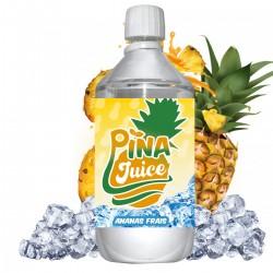 E liquide Pina Juice - 1 l - 50/50 PG/VG - 1 000 ML - Ananas Frais