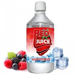 E liquide Red Juice - 1 l - 50/50 PG/VG - 1 000 ML - fruits rouges frais