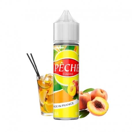 E-liquide Pêche 50 ml 50/50 PG/VG Vap'fusion